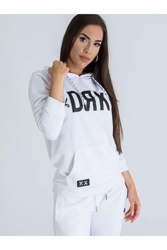 Dorko Női Kapucnis pulóver, Fehér BASIC DRK HOODIE WOMEN, DT2029W____0100