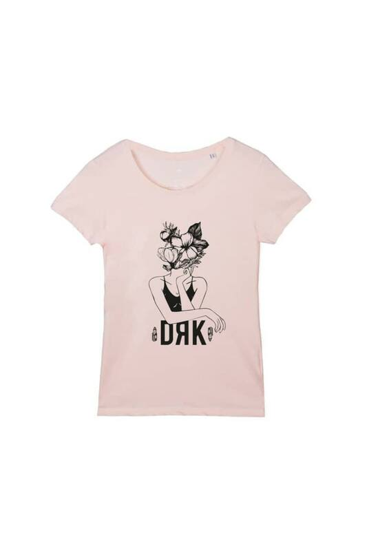 Dorko Női Rövid ujjú T Shirt, Rózsaszín NŐNAPI T-SHIRT, DT20NN02W__0800
