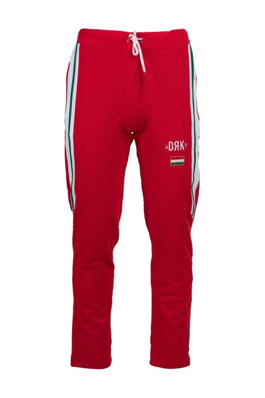 Dorko Férfi Jogging alsó, Piros HUNGARY JOGGING PANTS MEN, DTBT18SM2__0600