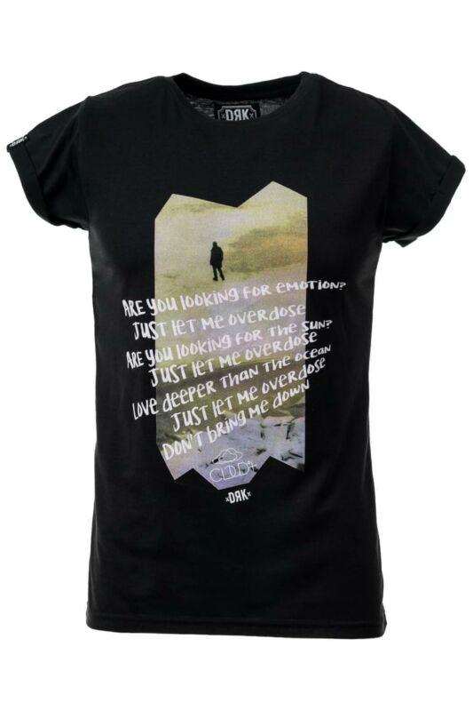 Dorko Férfi Rövid ujjú T Shirt, Fekete DRK x CLOUD9+ T-SHIRT MEN, DTCLOUDM___0001