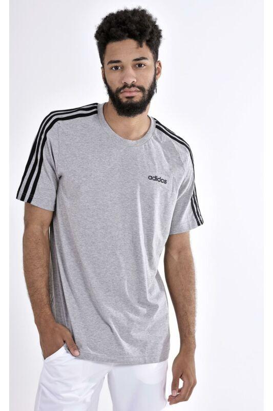 Adidas PERFORMANCE Férfi Rövid ujjú T Shirt, Szürke E 3S TEE, DU0442