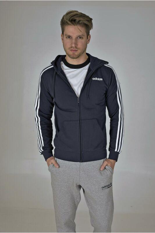 Adidas PERFORMANCE Férfi Végigzippes pulóver, Fekete E 3S FZ FT, DU0471