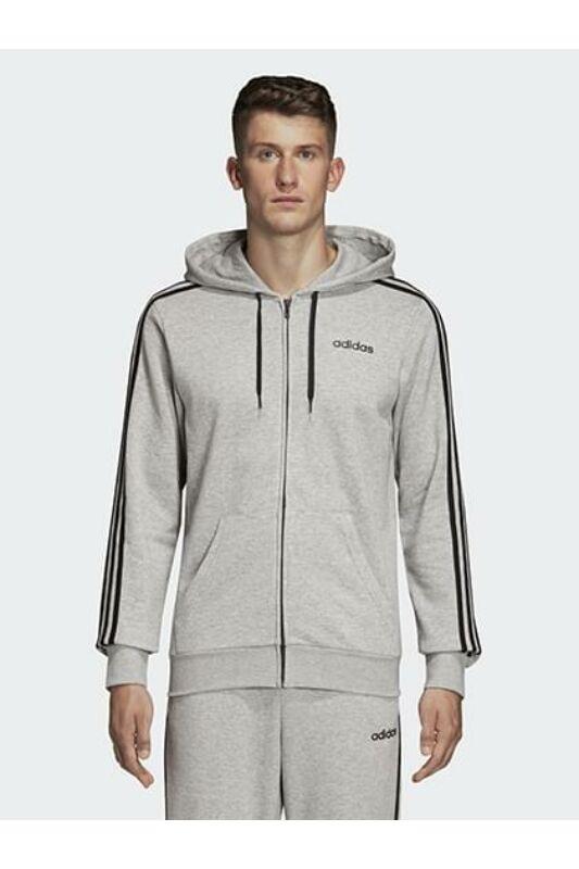 Adidas PERFORMANCE Férfi Végigzippes pulóver, Szürke E 3S FZ FT, DU0473