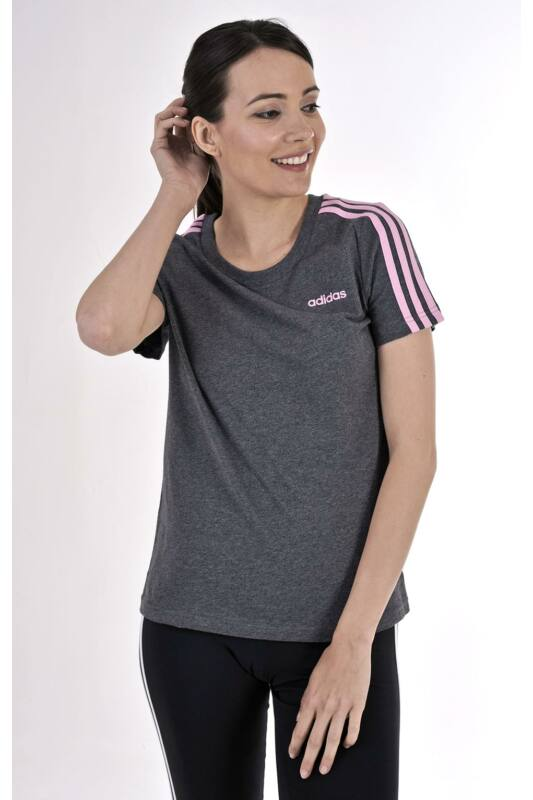 Adidas PERFORMANCE Női Rövid ujjú T Shirt, Szürke W E 3S SLIM TEE, DU0632