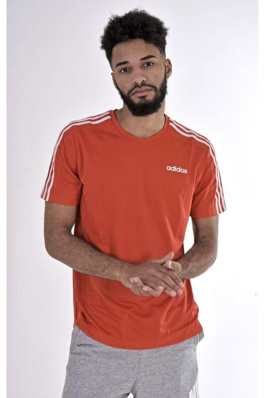 Adidas PERFORMANCE Férfi Rövid ujjú T Shirt, Piros D2M Tee 3S, DU1244