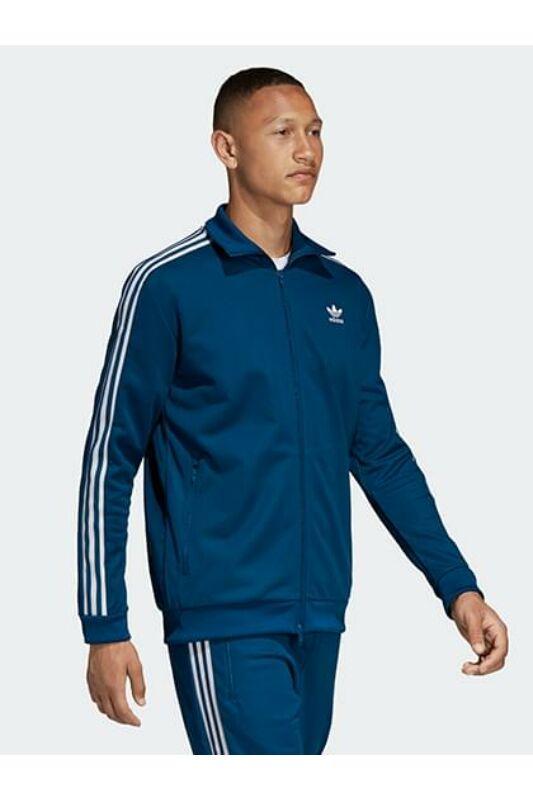 Adidas ORIGINALS Férfi Végigzippes pulóver, Kék BECKENBAUER TT, DV1522