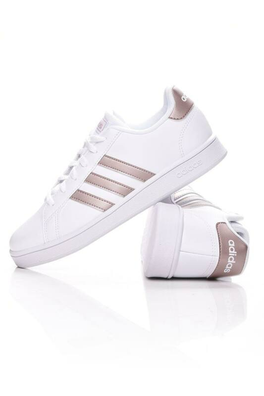 Adidas PERFORMANCE Kamasz lány Utcai cipő, Fehér GRAND COURT K, EF0101