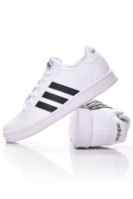 Adidas PERFORMANCE Kamasz fiú Utcai cipő, Fehér GRAND COURT K, EF0103