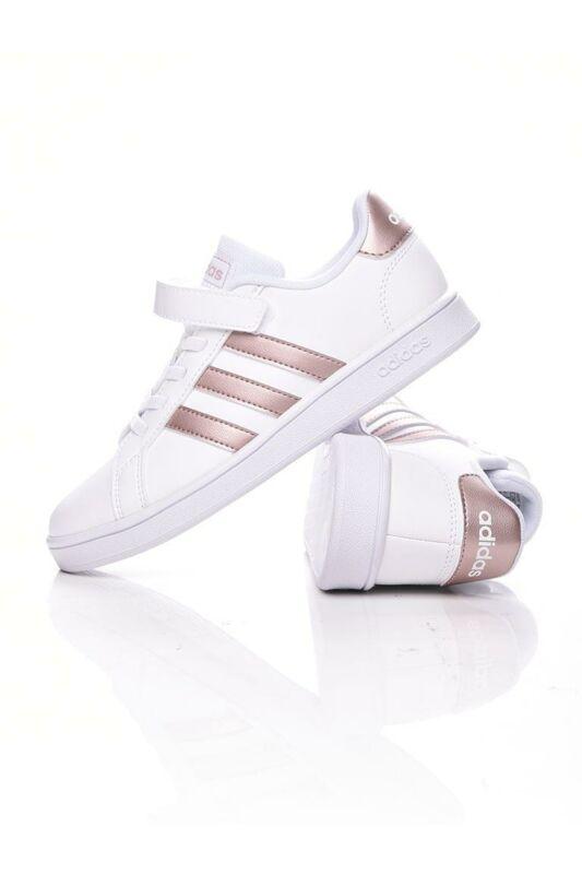 Adidas PERFORMANCE Kisgyerek lány Utcai cipő, Fehér GRAND COURT C, EF0107