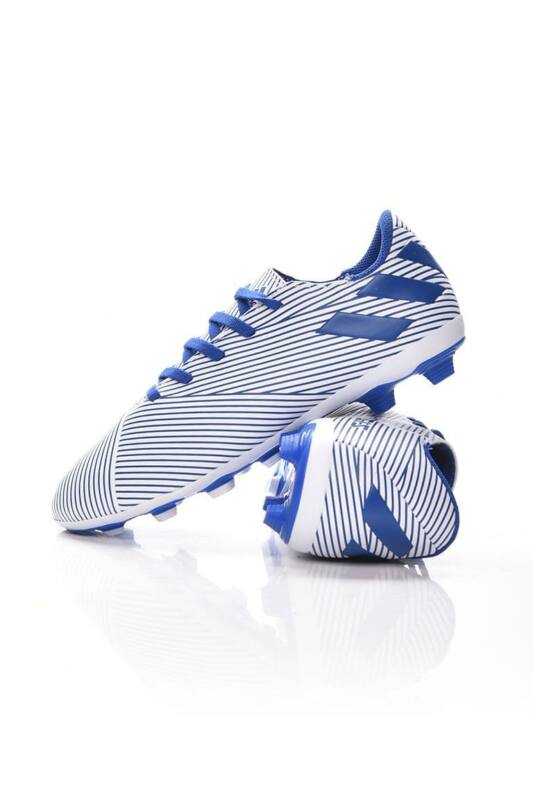 Adidas PERFORMANCE Kamasz fiú Foci cipő, Kék NEMEZIZ 19.4 FxG J, EF1740