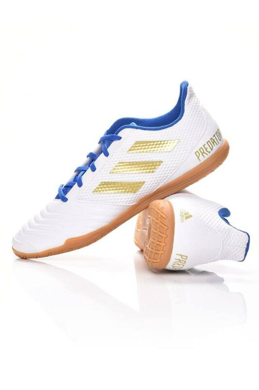 Adidas PERFORMANCE Férfi Foci cipö, fehér PREDATOR 19.4 IN SALA, EG2827
