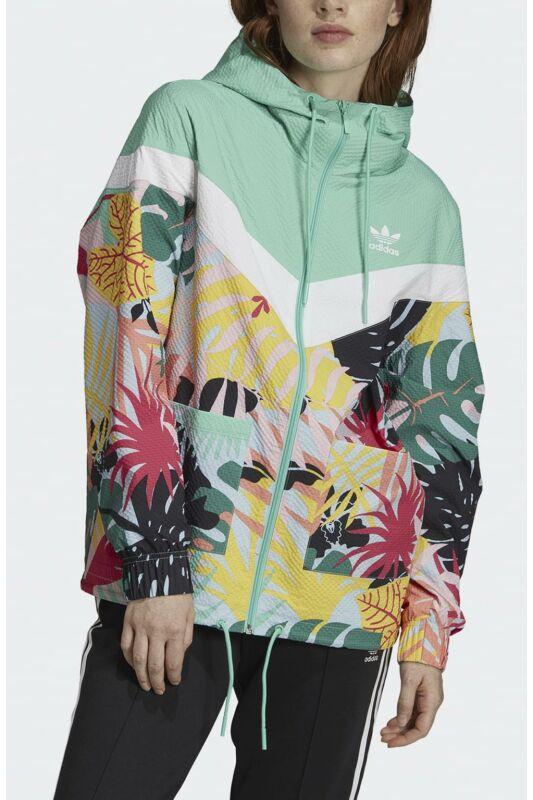 Adidas ORIGINALS Női Széldzseki, Zöld WINDBREAKER, FH7998