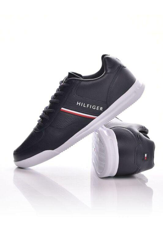 Tommy Hilfiger Férfi Utcai cipő, Kék LightweightLeatherMixSneaker, FM0FM02988_0DW5