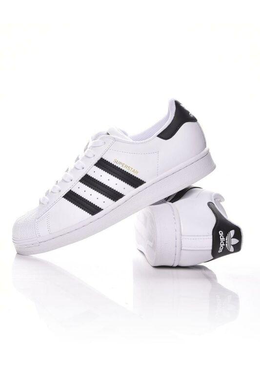 Adidas ORIGINALS Kamasz fiú Utcai cipő, Fehér SUPERSTAR J, FU7712