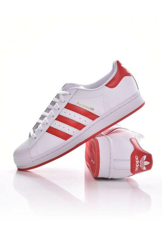 Adidas ORIGINALS Unisex Utcai cipő, Fehér SUPERSTAR, FW6011