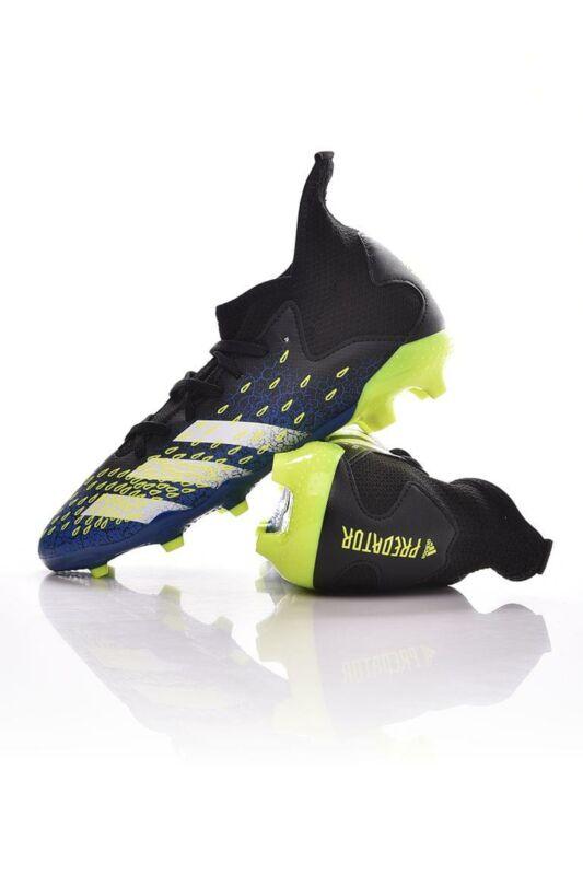 Adidas PERFORMANCE Kamasz fiú Foci cipő, Fekete PREDATOR FREAK .3 FG J, FY0613