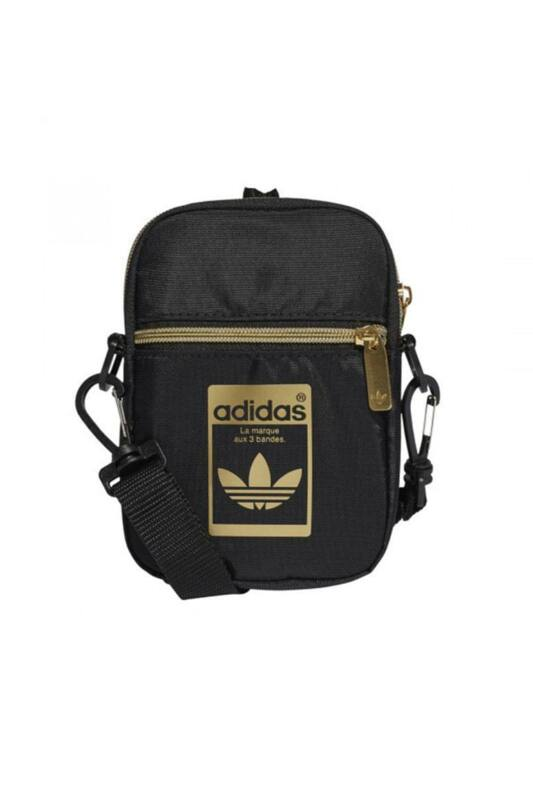 Adidas ORIGINALS Unisex Oldaltáska, Fekete SST FESTIVAL BAG, GF3199