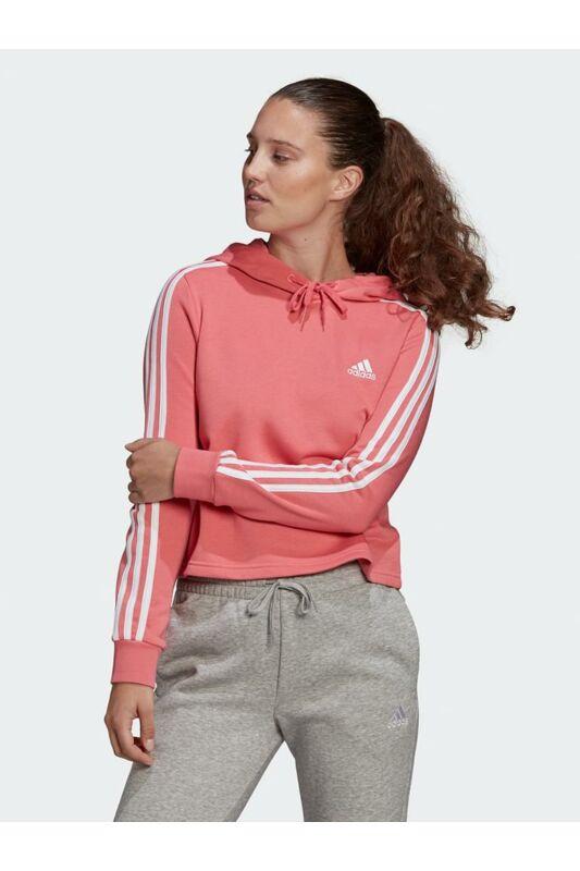 Adidas PERFORMANCE Női Belebújós pulóver, Rózsaszín W 3S FT CRO HD, GM5585