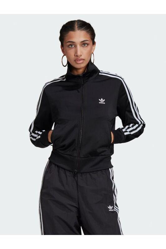 Adidas ORIGINALS Női Végigzippes pulóver, Fekete FIREBIRD TT  PB, GN2817