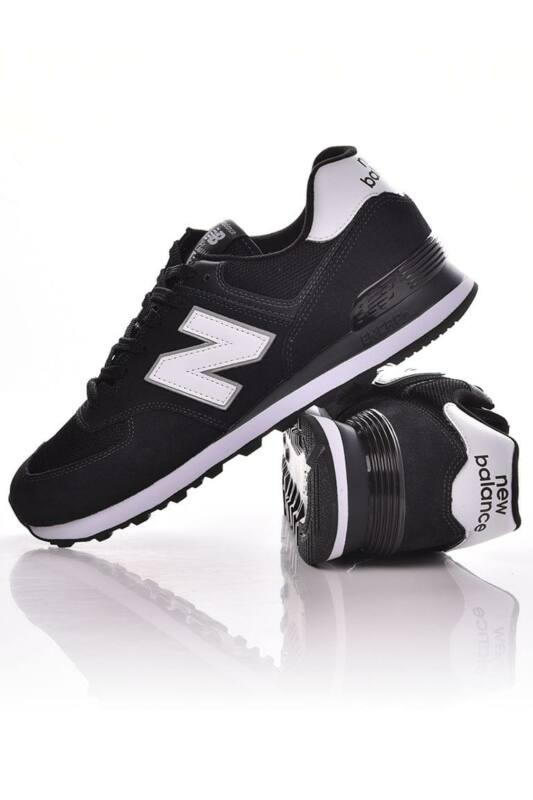 New Balance Férfi Utcai cipő, Fekete 574, ML574______0EE2