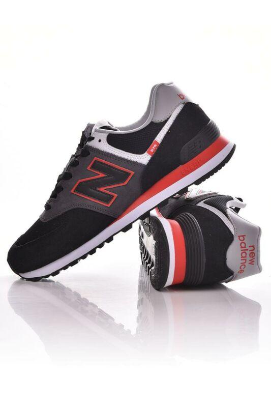 New Balance Férfi Utcai cipő, Fekete 574, ML574______0SM2