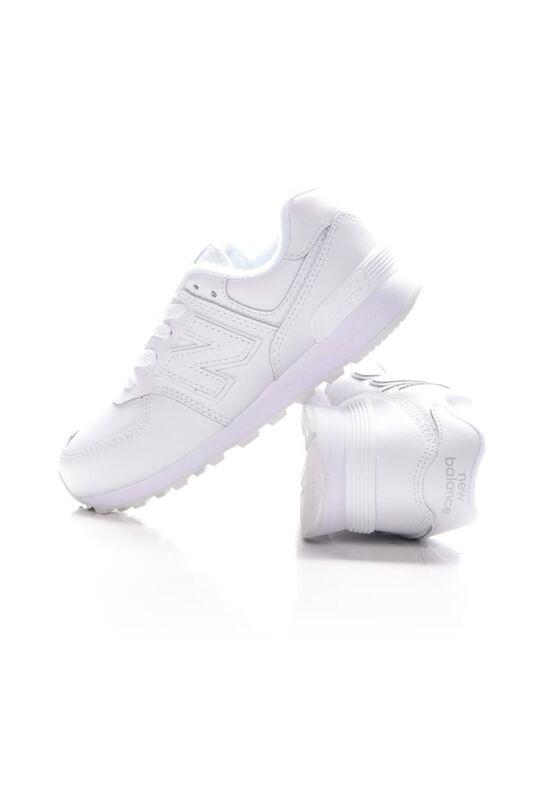New Balance Kamasz lány Utcai cipő, Fehér 574, PC574ERM