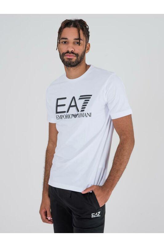 Emporio Armani Férfi Rövid ujjú T Shirt, Fehér TRAIN VISIBILITY M TEE, PJ03Z3HPT621100