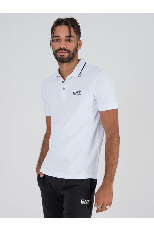 Emporio Armani Férfi Rövid ujjú T Shirt, Fehér TRAIN CORE ID M POLO, PJ04Z8NPF061100