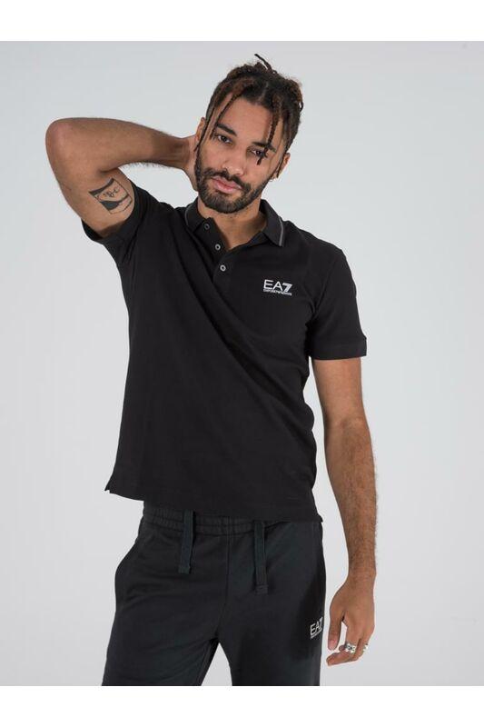 Emporio Armani Férfi Rövid ujjú T Shirt, Fekete TRAIN CORE ID M POLO, PJ04Z8NPF061200