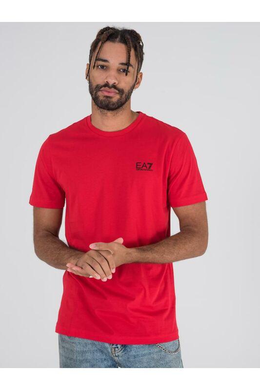 Emporio Armani Férfi Rövid ujjú T Shirt, Piros TRAIN CORE ID M TEE, PJM9Z8NPT511451