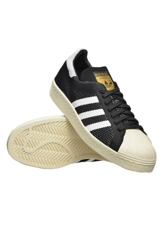 Adidas ORIGINALS Férfi Utcai cipő, Fekete SUPERSTAR 80S PRIME, S82780