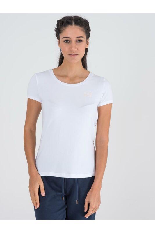 Emporio Armani Női Rövid ujjú T Shirt, Fehér TRAIN LOGO SERIES W tee, TJ28Z3HTT031100