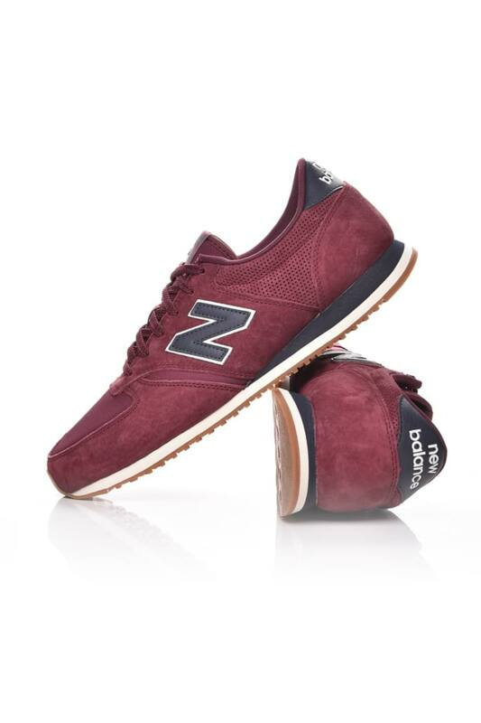 New Balance Férfi Utcai cipő, bordó 420, U420HJ