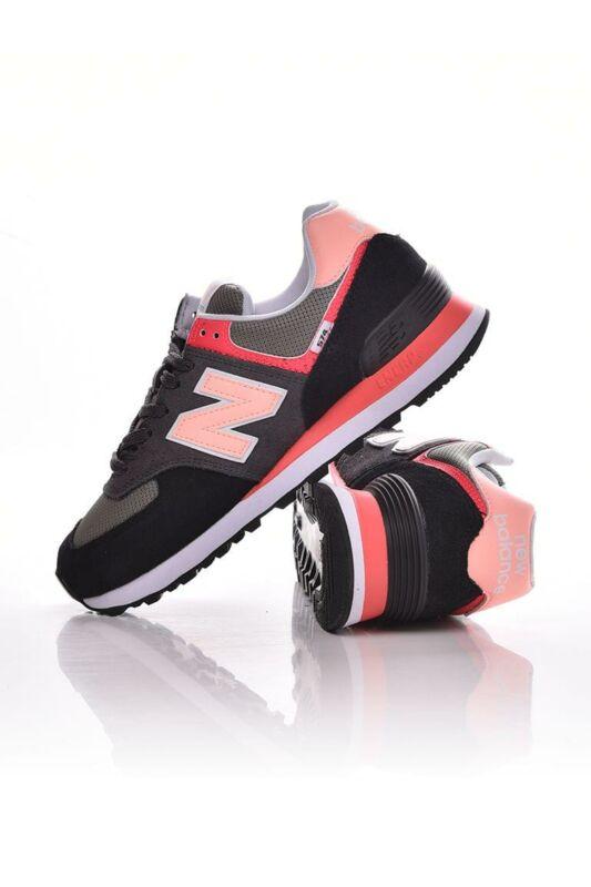 New Balance Női Utcai cipő, Fekete 574, WL574______0ST2