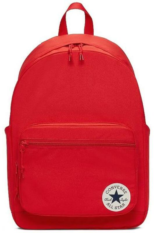 Converse Unisex Hátizsák, Piros Converse go 2 backpack red, 10017261-A05-610-U