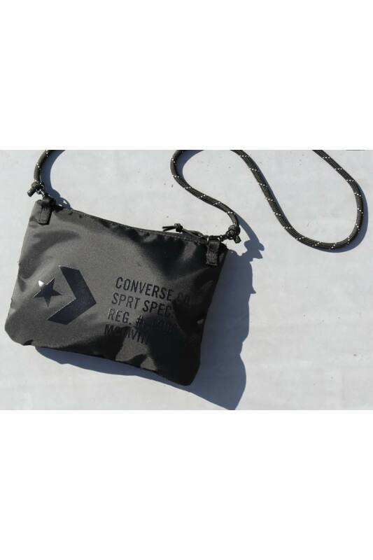Converse Unisex Oldaltáska, Fekete Musette converse black, 10017708-A01-001-U