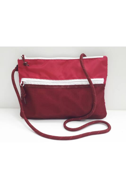 Converse Unisex Oldaltáska, többszínű Musette cerise pink team red, 10018461-A06-637-U