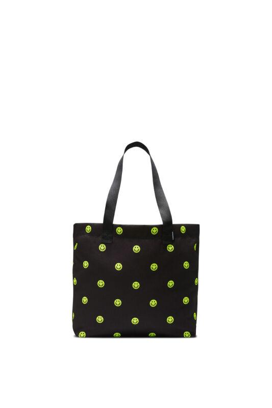 Converse Unisex Divat - fitness táska, többszínű Canvas tote converse black zinc yellow, 10018968-A01-001-U