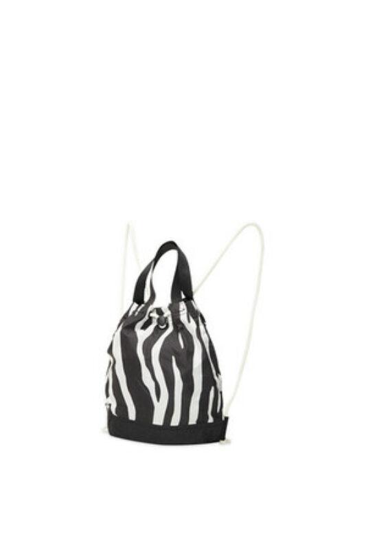 Converse Unisex Hátizsák, többszínű Bucket bag converse black egret, 10018971-A01-001-U