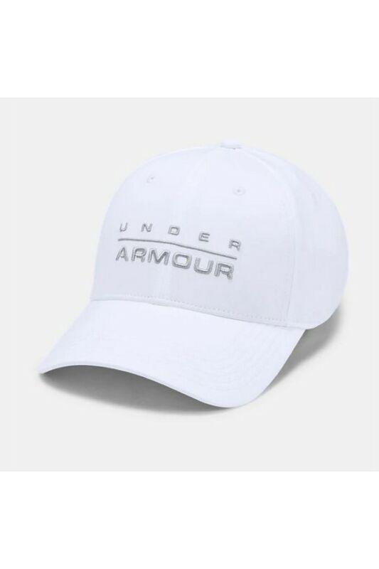 Under Armour Férfi Baseball sapka, Fehér Men\'s wordmark str cap, 1342243-100-M/L