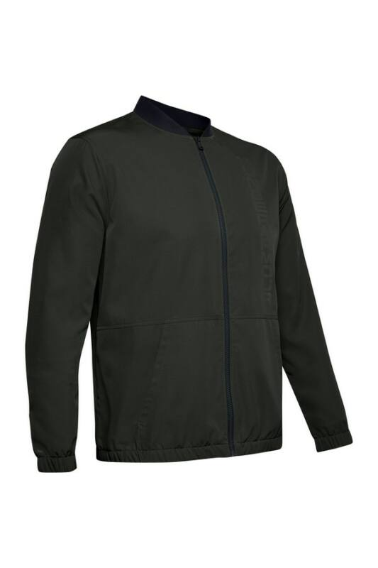 Under Armour Férfi Kabát, dzseki, Zöld Unstoppable essential bomber, 1345610-310-MD