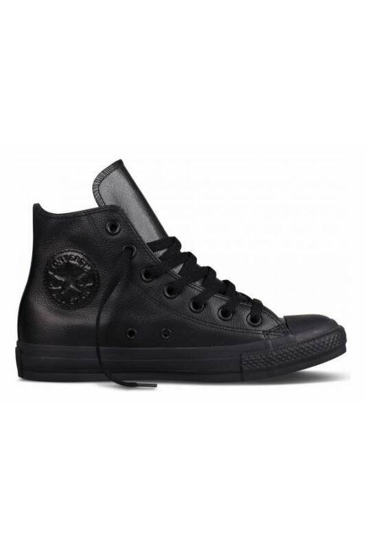 Converse Unisex Utcai cipő, Fekete Ct as hi black mono, 135251C-8