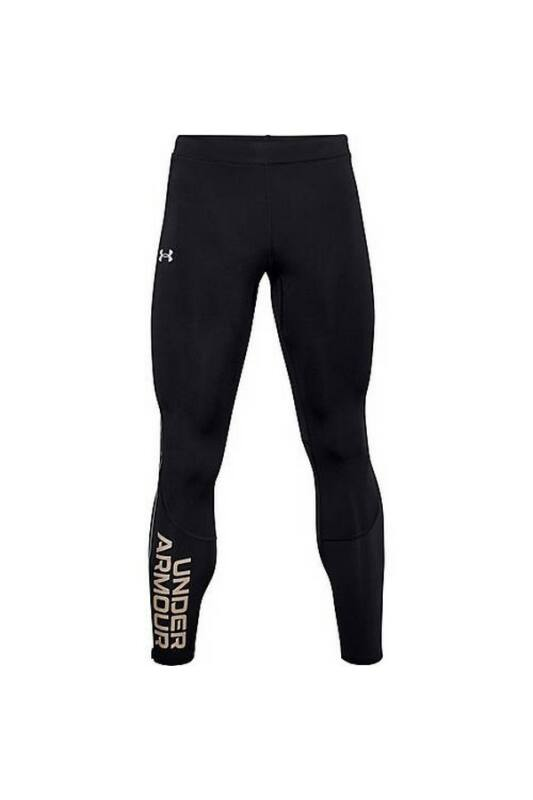 Under Armour Férfi Leggings-fitness/futás, Fekete Ua fly fast coldgear tight, 1356153-001-LG