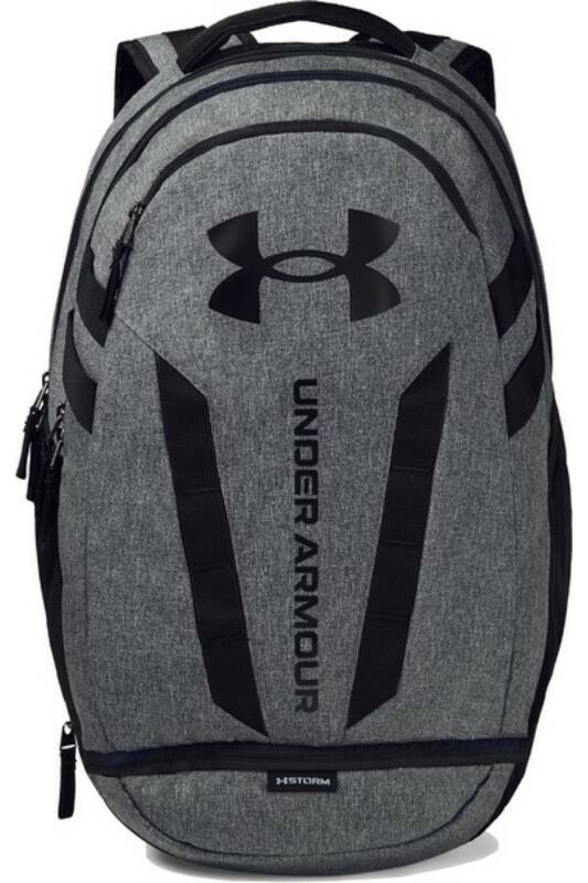 Under Armour Unisex Hátizsák, Fekete Ua hustle 5.0 backpack, 1361176-002-OSFA