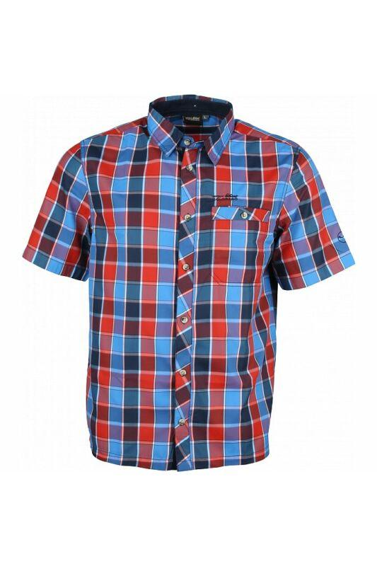 High Colorado Férfi Ing, Narancssárga Zell 2-m check shirt, 2003693-2605-L