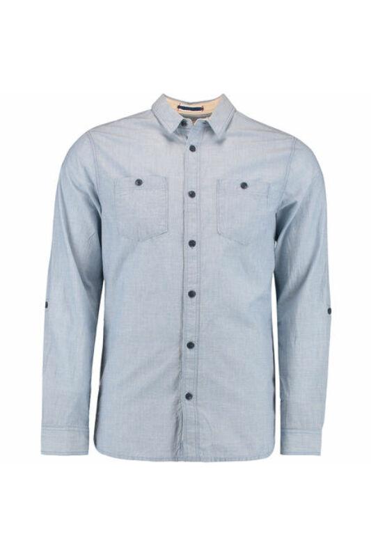 O'Neill Férfi Ing, Kék Lm beach break l/slv shirt, 7A1306-5055-XL