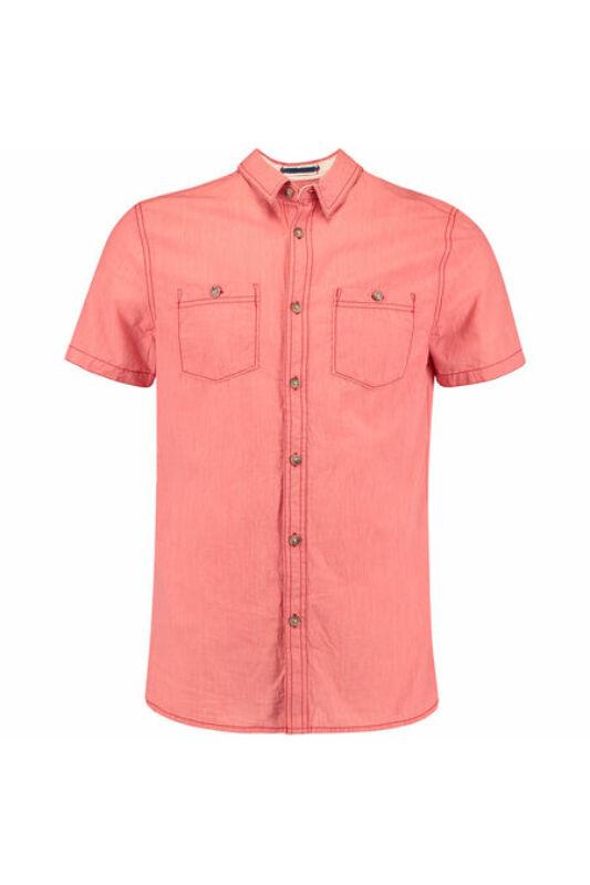 O'Neill Férfi Ing, Rózsaszín Lm cut back s/slv shirt, 7A1310-3077-L