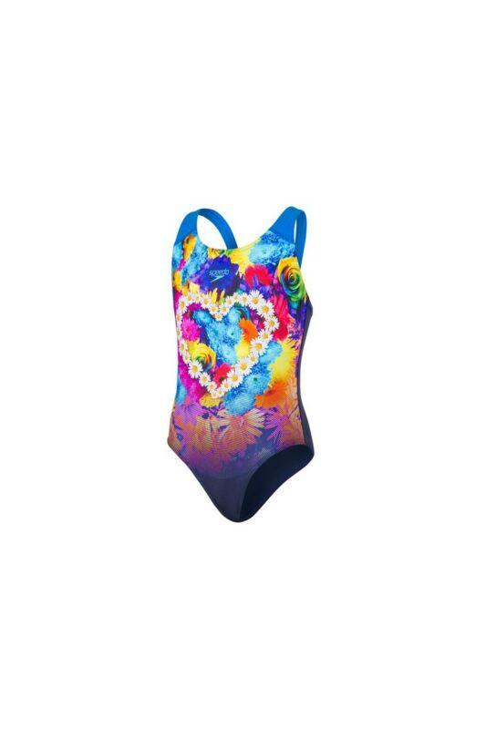 Speedo Lányka Úszódressz, Kék Hippyhop placement digital splashback(uk), 8-07386C807-30