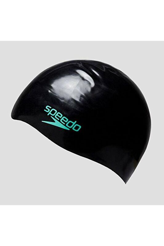Speedo Unisex Úszósapka, többszínű Cap au black/green, 8-08216A290-L