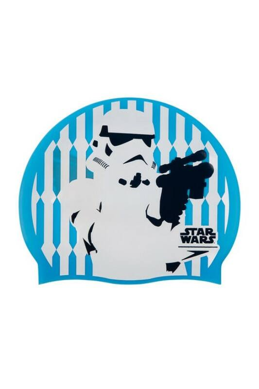 Speedo Unisex Úszósapka, Kék Star wars  print cap stormtrooper\n(uk), 8-08385D676-UNI